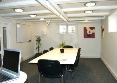 Et godt møderum i Roskilde centrum til otte personer.