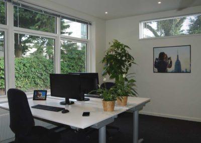 Lyse og venlige kontorlokaler i newyorker-stil