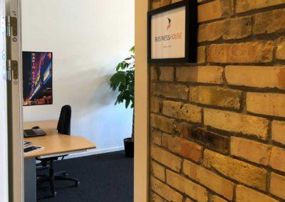 Kontor 31 i Roskilde centrum med plads til tre arbejdspladser