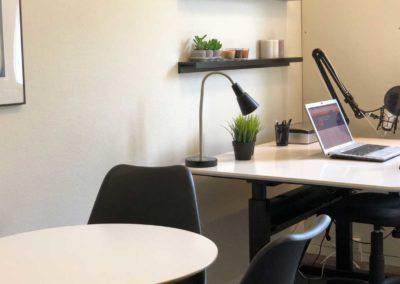 Delekontoret har mødebord til dig og dine kunder