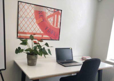 Enkeltmandskontor i BusinessHouse