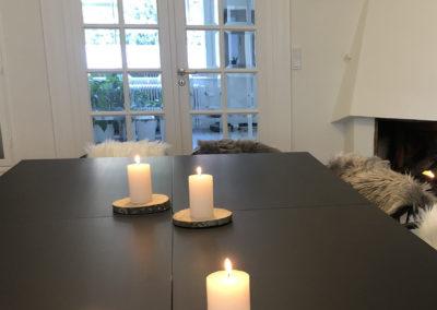 Pejsestuen er Roskildes hyggeligste mødelokale, som kan bruges til f.eks. en workshop