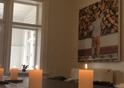 Pejsestuen er Roskildes hyggeligste kursuslokale. som du kan bruge i weekenden til dit kursus