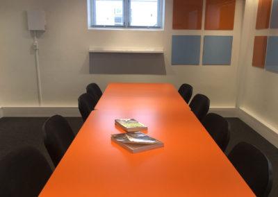 idéRummet er Roskildes innovative mødelokale - skabt til kreative møder.