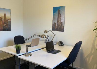 Kontorlokale 18 i BusinessHouse - med to arbejdspladser og plads til udvidelse...