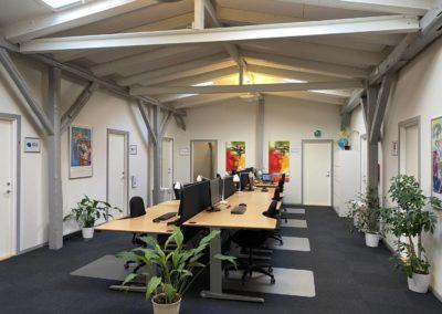 Få dit eget kontor i Roskilde - få en flyverplads...