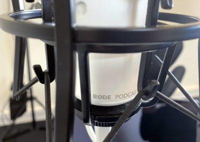 Podcast Studie Roskilde - RØDE Podcast mikrofon med USB...
