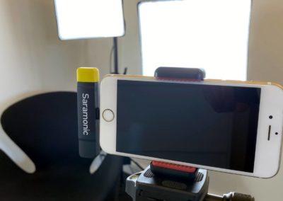 Video Studie Roskilde - sådan, nu er der eksterne mikrofoner til din telefon...