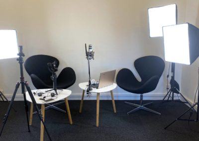 Videostudie Roskilde - vi har udstyr og flere lokaler...