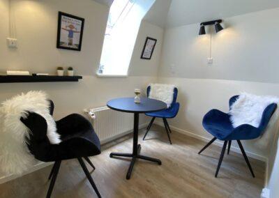 SamtaleRummet - plads til dig og to kunder...